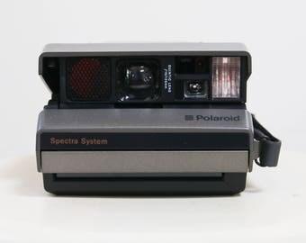 Vintage Polaroid Spectra 2 WORKING Instant Camera 1980s Polaroid Camera Vintage Photography Instant Film Camera