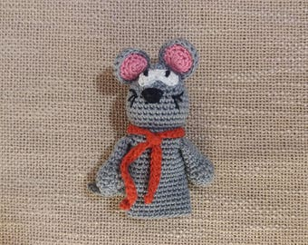 Mouse puppet, Finger-toy, finger puppets, Finger dolls