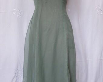 RESRVD FOR DIANA90's handmade chiffon bridesmaid dress
