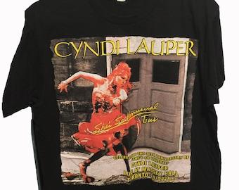 Cyndi Lauper Toronto Concert Tour T-Shirt