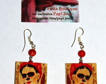"Capsule collection ""Frida"" Frida ""skulls"" boutique-earrings"