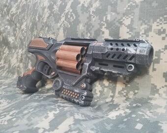 Steampunk Inspired Custom Painted Pistol Blaster