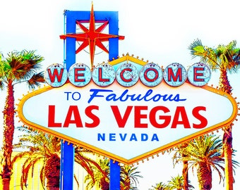 Las Vegas Wall Art las vegas art | etsy