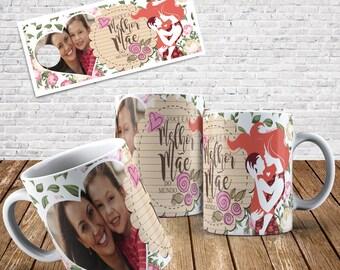 Mother's Day Mug Digital Template 001