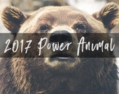 2017 Power Animal - Emailed PDF Intuitive Reading - Your Spirit Animal for the New Year