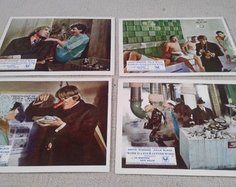 Work is a Four Letter Word Lobby Cards - Villa Black