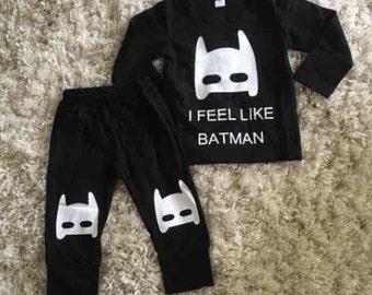 Batman lounge outfit set