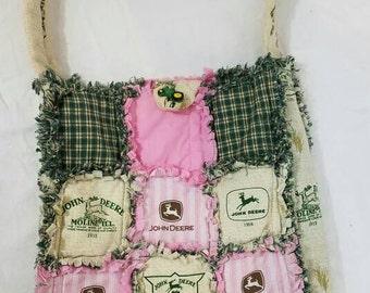 Patchwork John Deere Handbag