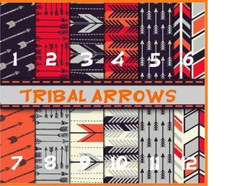 Tribal Arrows 12x12,Pattern Vinyl Printed Vinyl- Adhesive Sticky Craft Vinyl- HTV Vinyl and Glitter Vinyl