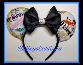 Storybook Fairytale Mouse Ears, ready to ship, one of a kind