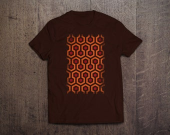 The Shining Overlook Hotel - Mens and Womens Round Neck T-Shirt