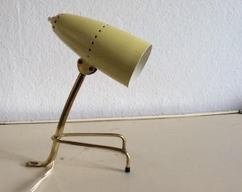 Rare tripod table lamp Midcentury Modern Rupert Nikoll