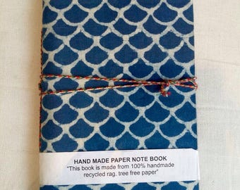 Small Assorted Block Print Lined Journal