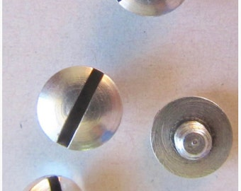 2 screws without rivet 7mm - imitation of money