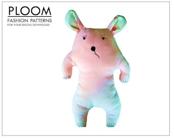 Big Bear Childrens Teddy by Ploom Patterns