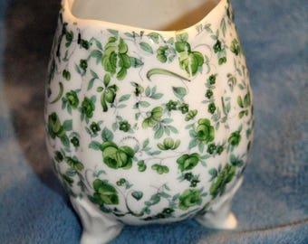 Vintage Flower Three Legged Vase