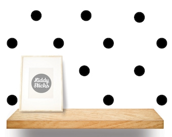 Polka Dot Confetti Wall Stickers / Decals - 3 Sizes & 21 Colours Available - FREE UK POSTAGE