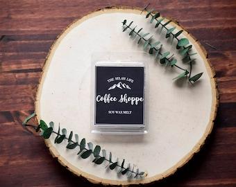 COFFEE SHOPPE Soy Wax Melts || Scented Wax Tarts || Wax Melts