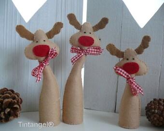 Ho Ho Ho Reindeer - PDF pattern - download