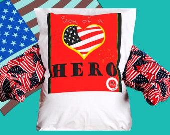 Son of a HERO LuvHugz pillow