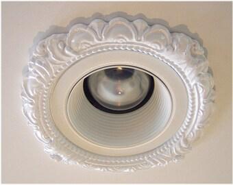 """3-3/4"""" Decorative Recessed Light Trim for Recessed Lighting #LR-301"""