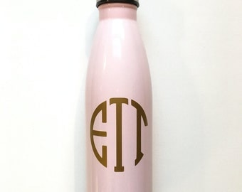 Monogramed Water Bottle (S'well-like)