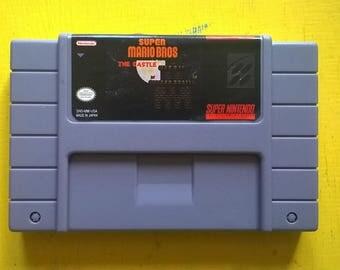 Super Mario Bros the Castle - SNES Reproduction