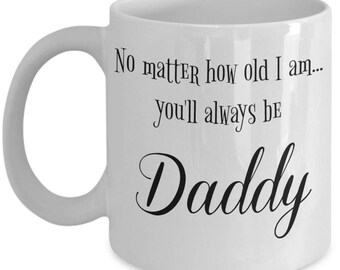 Father's Day Mug | To Daddy From Daughter Gifts | Sentimental Gifts For Dad | Birthday Gift For Father | 11 oz Coffee Cup | Keepsake