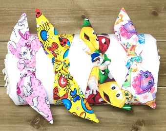 SPECIAL- Shopkins Marie Aristocats M&M Happy Bugs Headbands Tie Knot Headbands Matching Headbands Baby Head Wraps Mother Daughter Headbands