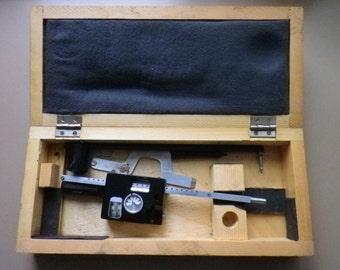 vintage polar planimeter / area mesurement tool / surveing intrument
