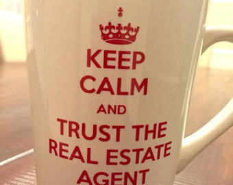 Real estate agent mug