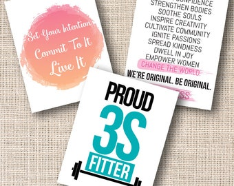 3S Fitness Print Bundle
