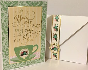 Valentine's Day Card/Tea Party Collection
