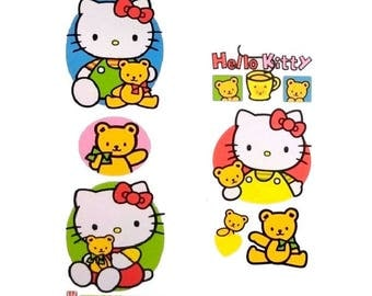 UK Hello Kitty Waterproof Stickers Furniture Kitchen Bathroom Tile Glass Laptop Removable Vinyl Decal