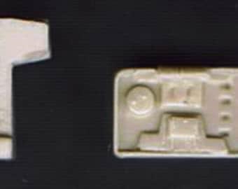 1:25 scale model resin Checker taxi cab fare meter