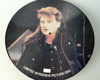 """U2 Limited Edition 12"""" Picture Interview Disc"""