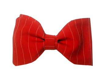 Madrid Bowtie - J&T Bowtie With Attitude - 100% red cotton