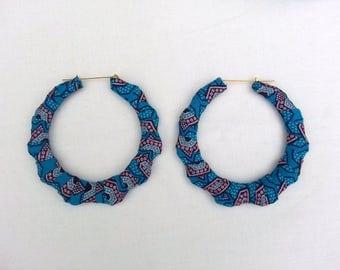 Large Ankara Earings