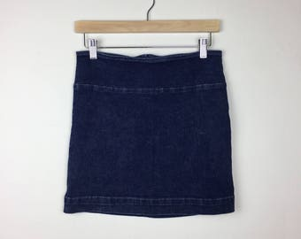 90s GUESS Denim Skirt Size 29, Denim Mini Skirt, GUESS Skirt, Jean Skirt M