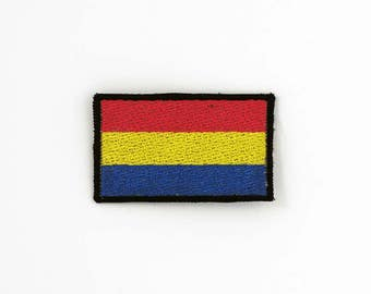Pansexual Pride Flag Patch, Iron on Patch, Sew on Patch, Pride Flag Pin