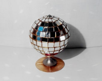 Vintage Disco Ball  Glass Disco Ball USSR 80s