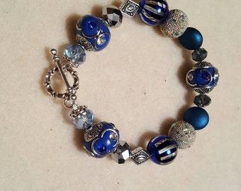 Winter Beaded Bracelet
