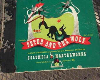 Vintage Peter and the Wolf narrated by Basil Rathbone
