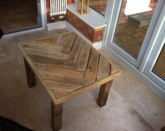 reclaimed wood coffee table | etsy uk