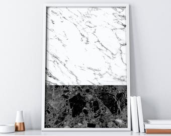 Marble Printable Art| Marble Digital Print| Marble Print| Tumblr Room Decor| Boho Chic Wall Art| Marble Art| Minimalist Poster| Marble Decor