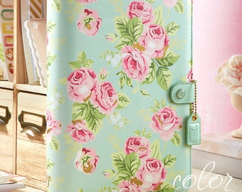 Binder Webster's Pages Color Crush A5 Binder Only - Mint Floral