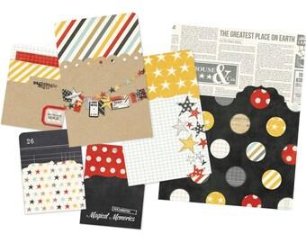 Memorabilia Pockets 6/Pkg - Say Cheese - Simple Stories