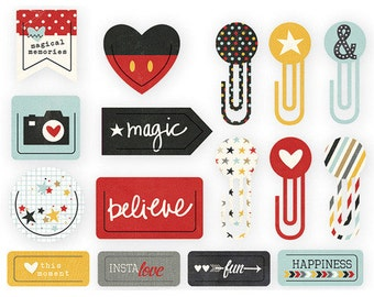 Decorative Clips - Say Cheese 16pc - Simple Stories
