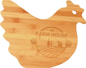Animal Shaped Baboo Cutting Boards
