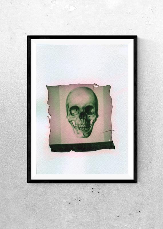 Smile - Polaroid Emulsion Lift